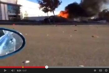 video pual walker accidente