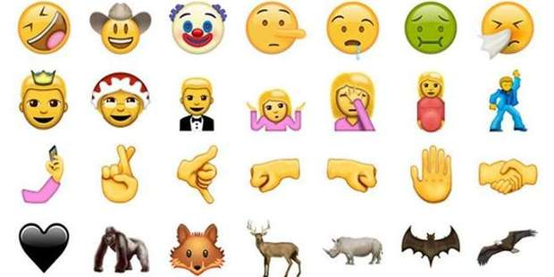 emojis unicode 9-0 whatsapp