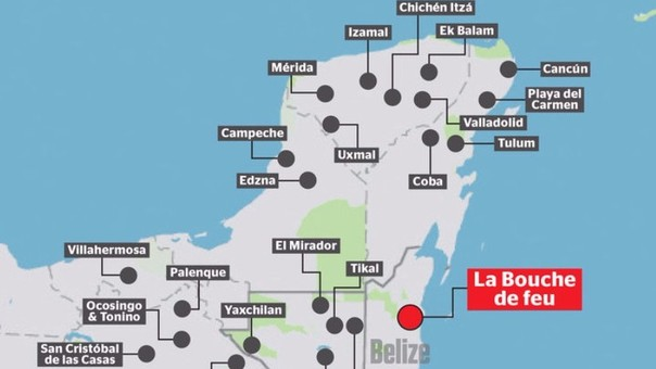 tercera ciudad maya perdida-belice-boca de fuego