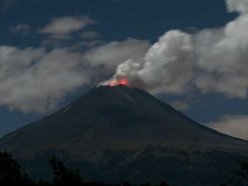 Registra actividad intensa el Popocatépetl