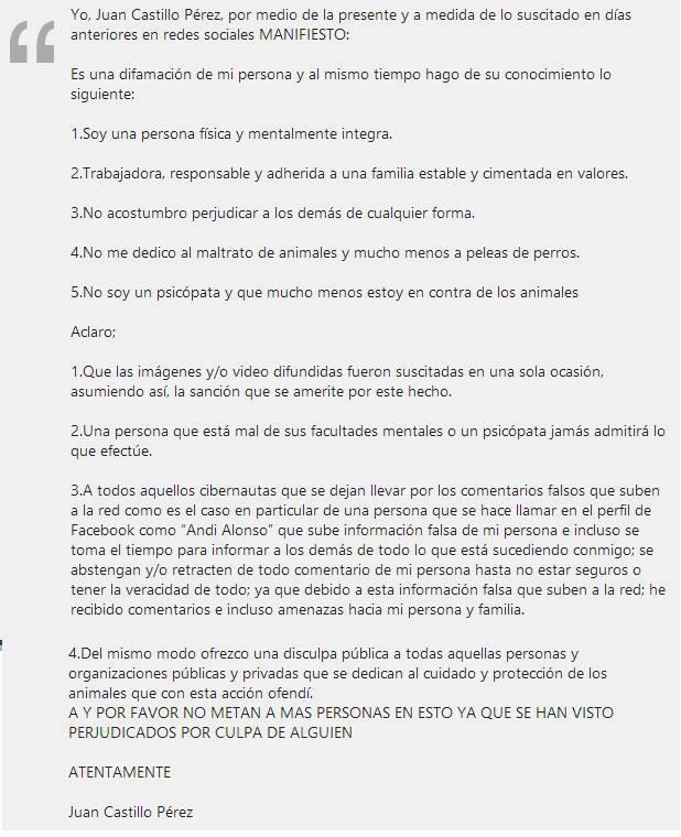 carta matagatos facebook