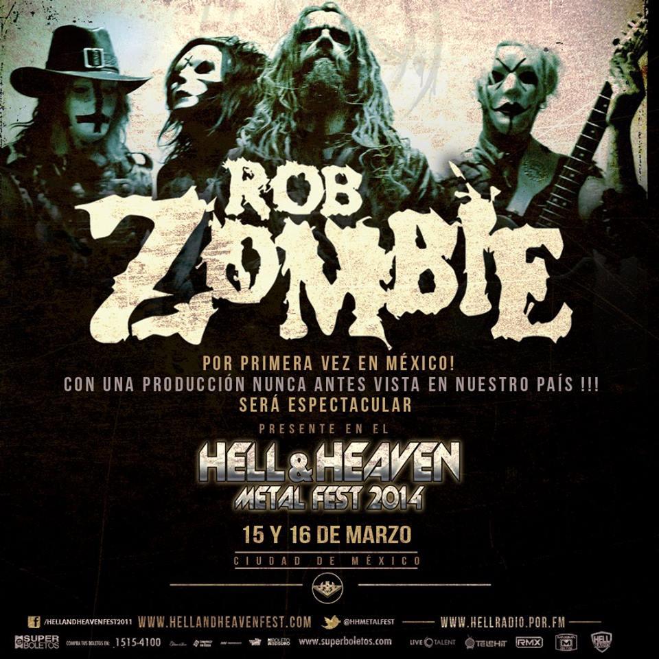 Rob Zombie Hell&Heaven Fest 2014