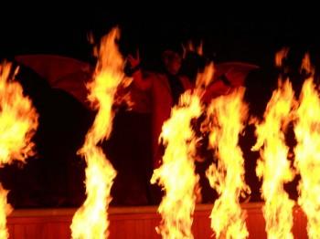 inauguración Festival Mórbido Teatro Emperador Pátzcuaro 2013