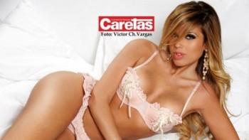 Alejandra de la Fuente hija de Laura Bozzo posa en lencería para una revista