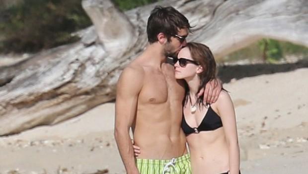 Photo of Emma Watson estrenando galán en las playas del Caribe