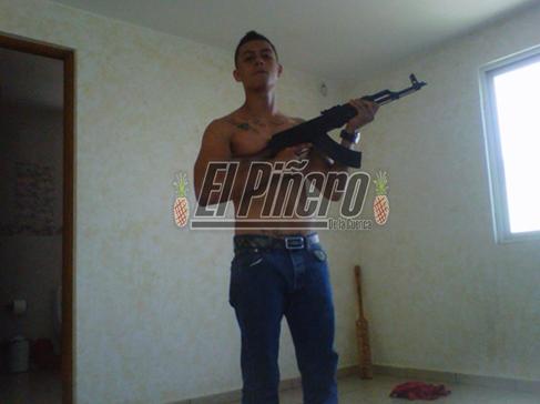 Gibrán La Voz México armas