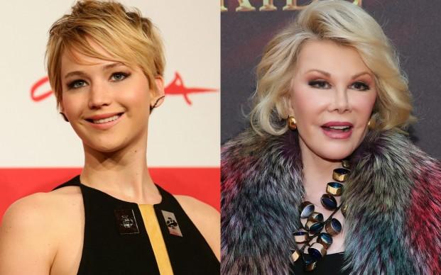 Jennifer Lawrence vs Joan Rivers