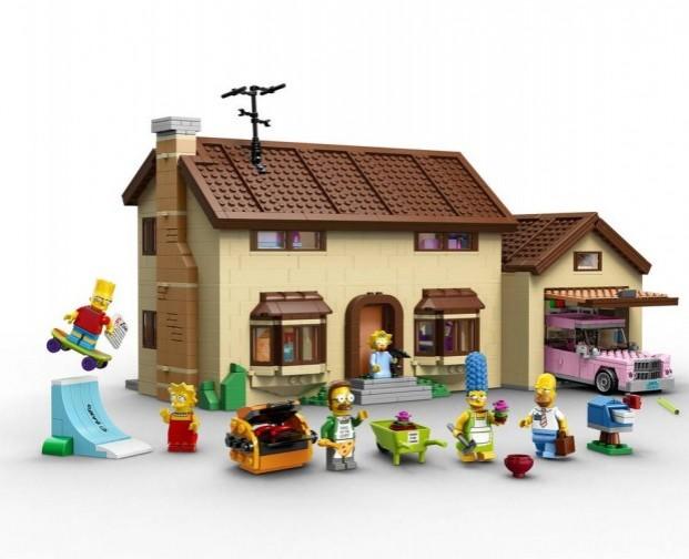 Photo of Lego lanzó su línea de Los Simpson