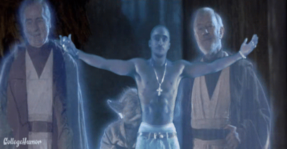 Tupac Star Wars