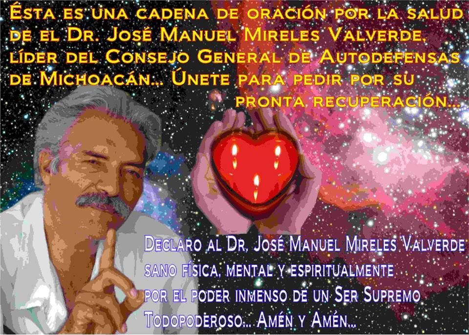 cadena de oración por Mireles en California Michoacanos por la paz2