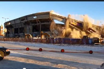 Photo of VIDEO: Demolición del Metrodome de Minnesota