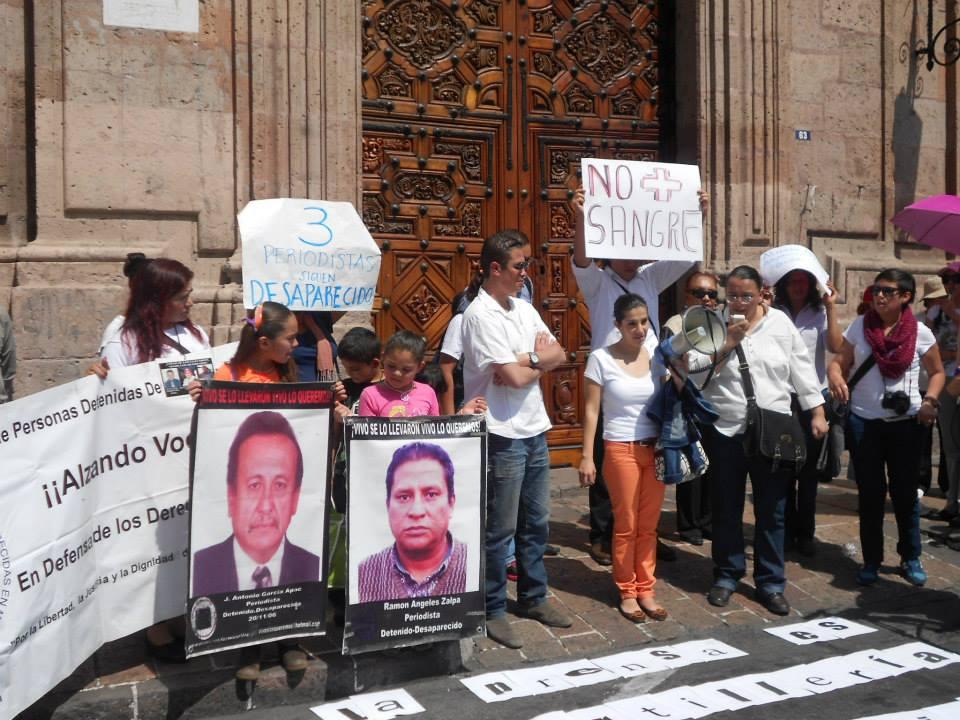 Periodistas Michoacanos se unieron a la voz #PrensaNoDisparen 8