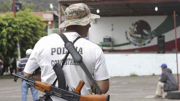 policía comunitaria autodefensas
