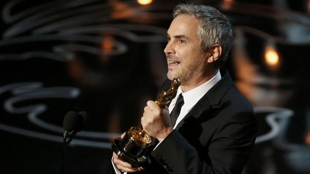 Alfonso Cuarón Oscar 2014 Gravity