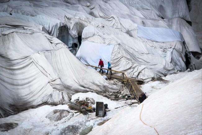 Glaciares de la Antártida