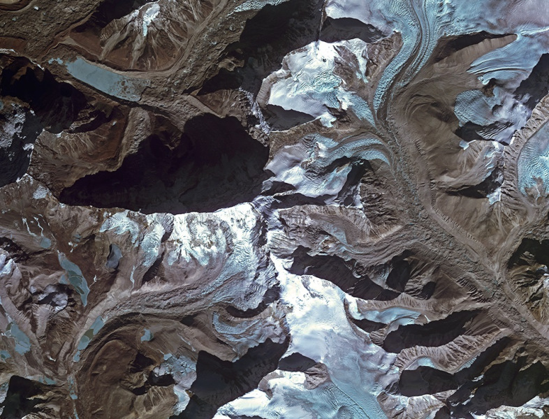 Photo of Impactantes fotos del Himalaya desde el espacio