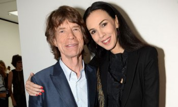 L'Wren Scott y Mick Jagger
