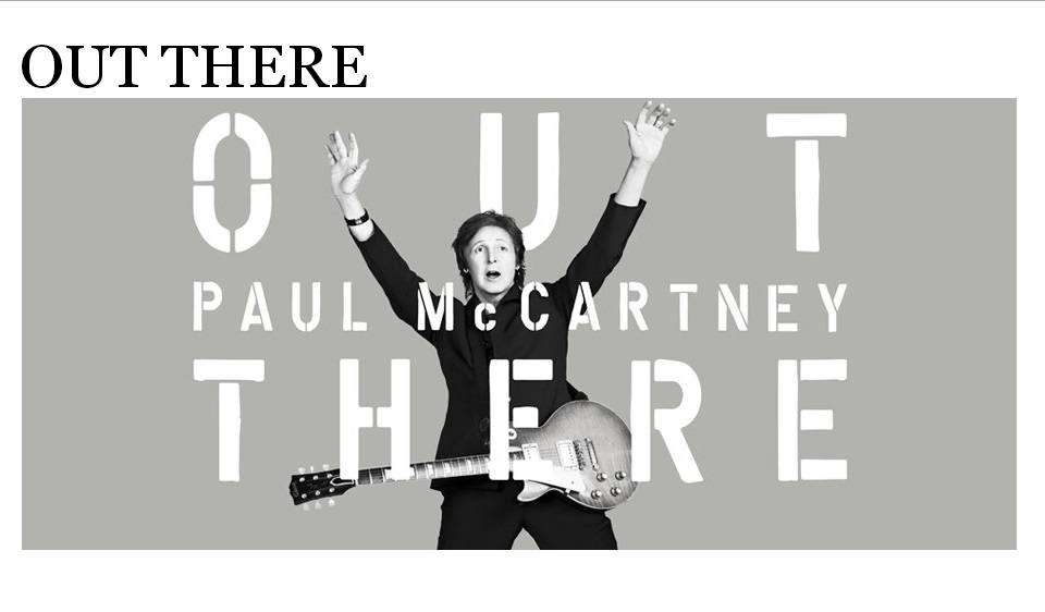 Paul McCartney gira Out There