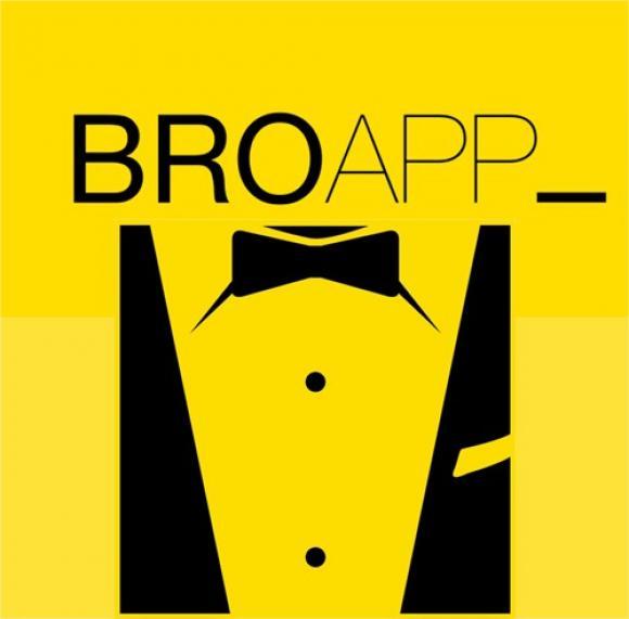 bro app novios ocupados logo