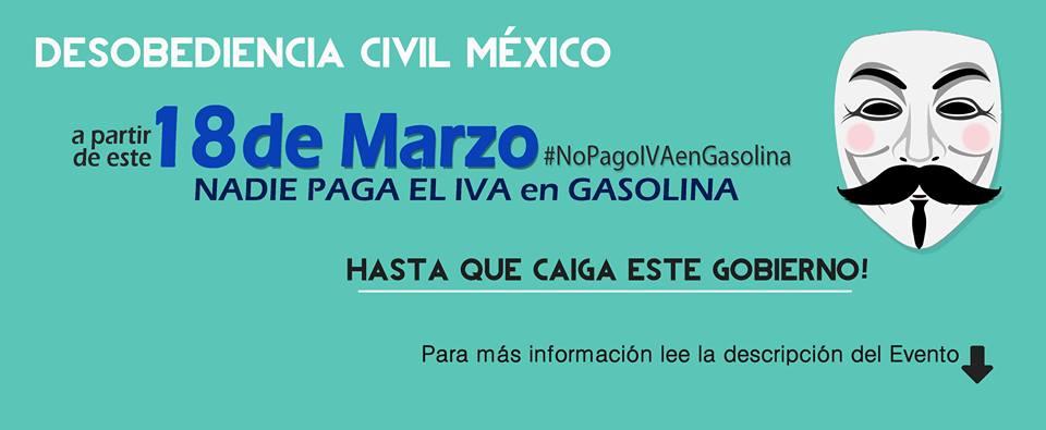 Photo of Convocan en redes a no pagar IVA en gasolineras el 18 de marzo