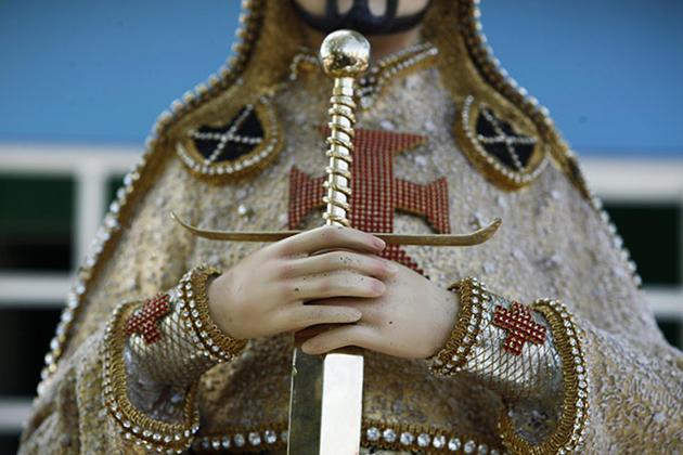 estatua El Chayo Templarios
