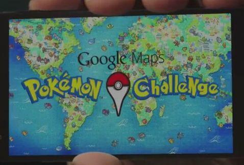 reto pokemon de google maps