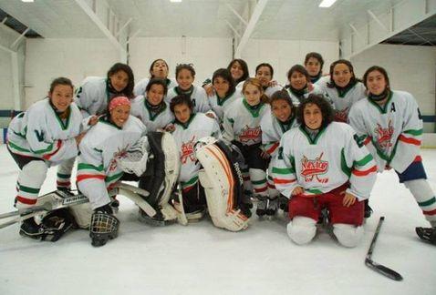 selección mexicana femenil de Hockey sobre hielo