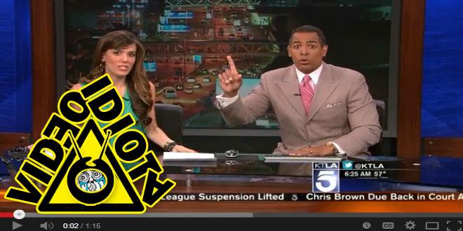 video idiota sismo al aire