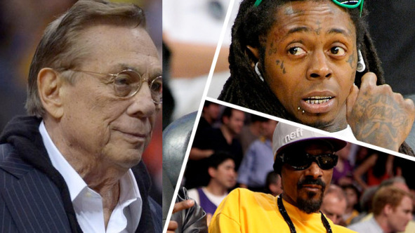 Donald Sterling, Snoop Dogg y Lil Wayne