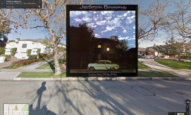 Google Street View portada de Late for the Sky de Jackson Browne
