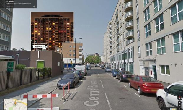 Google Street View portada de Original Pirate Material de The Streets