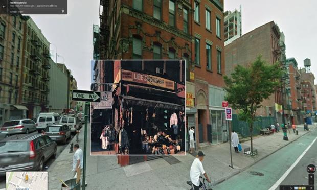Google Street View portada de Paul's Boutique de Beastie Boys