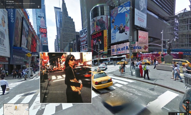 Google Street View portada de Stories from the City, Stories from the Sea de PJ Harvey