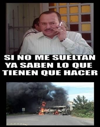 Meme que circula en redes sociales sobre Pasalagua tras su detención