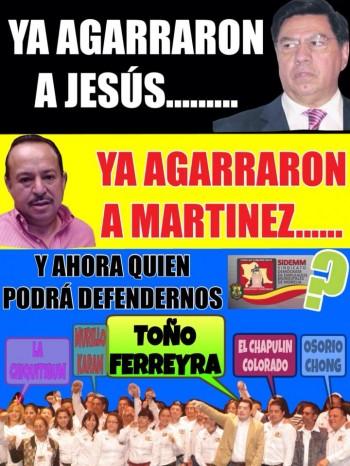 Meme que circula en Facebook sobre las relaciones con el sindicato del ayuntamiento de Morelia