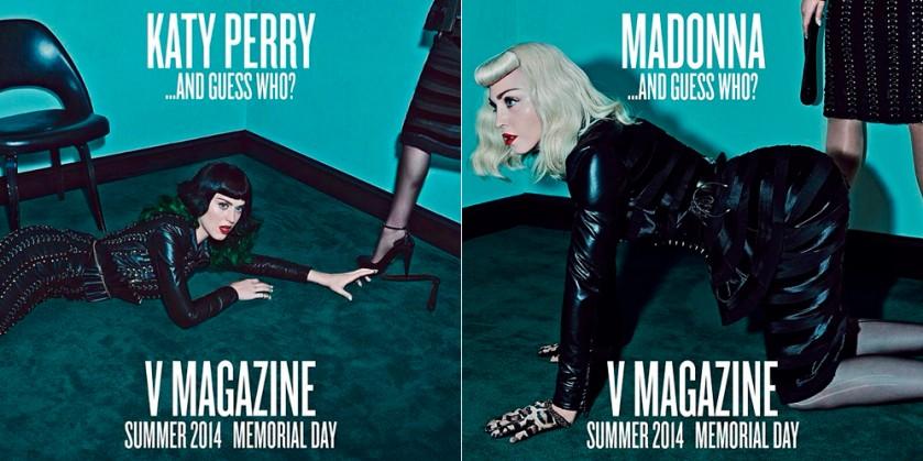 Madonna y Katy1