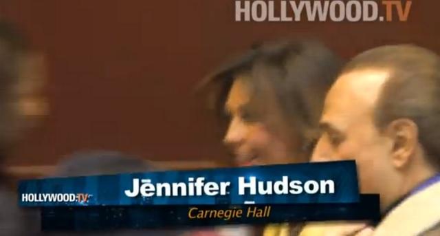 Incluso la tv gringa confundió a la intérprete de María Mercedez con la actriz  Jennifer Hudson