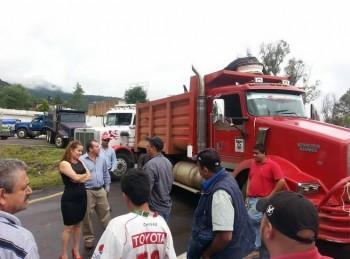 bloqueo carretera Pátzcuaro Morelia