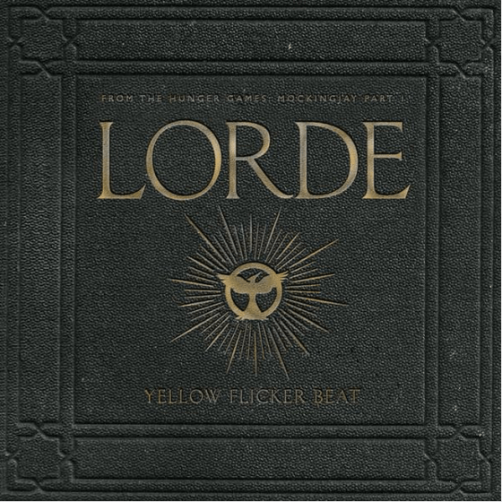 Lorde Yellow Flicker Beat para The Hunger Games
