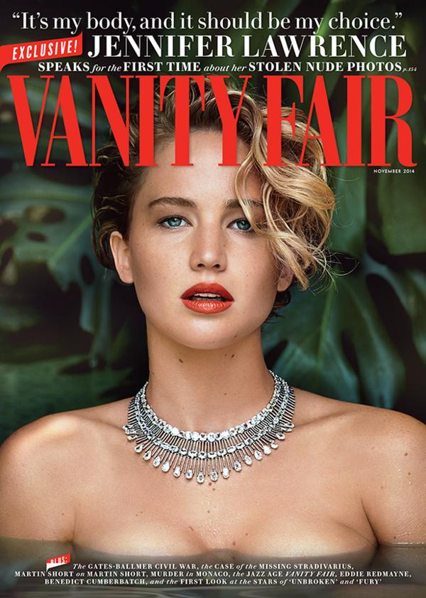 Jennifer Lawrence portada Vanity Fair