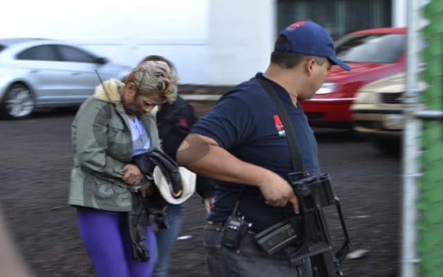 esposa de La Tuta Ana Patiño detenida por la PGJE