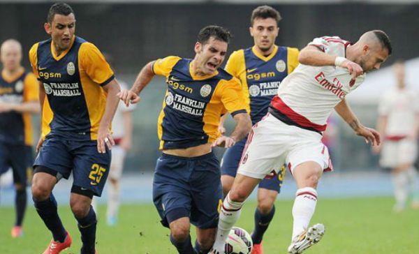 Rafa Márquez con Hellas Verona
