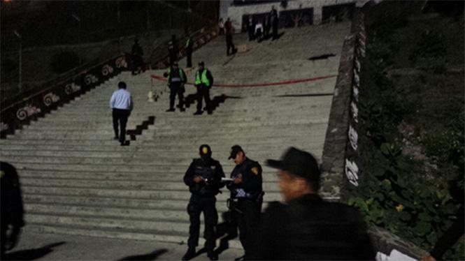 asesinato escalinatas metro Observatorio México