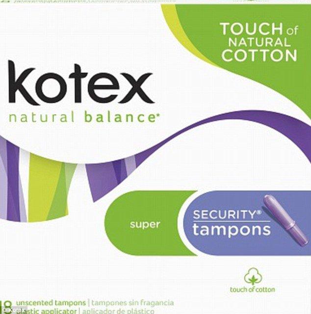kotex tampones infección