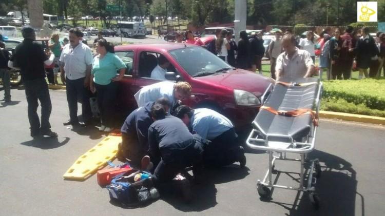 Cuatro Normalistas Heridos Al Explotar Cohetones Durante Marcha 2