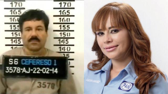 El-Chapo-y-diputada-Lucero-Guadalupe-Sanchez-Lopez