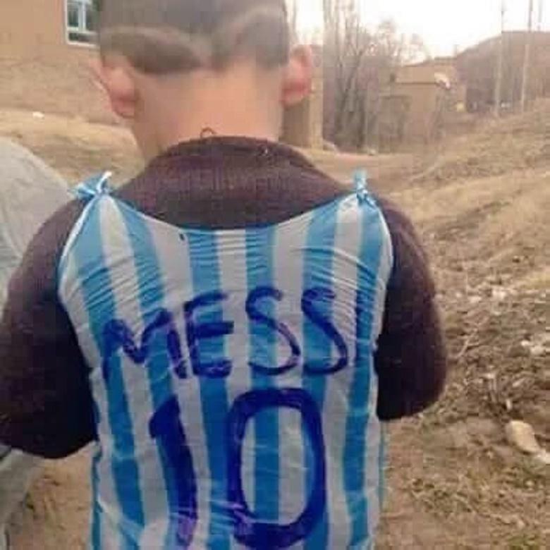 #FotoViral Niño Afgano Podría Conocer A Lionel Messi