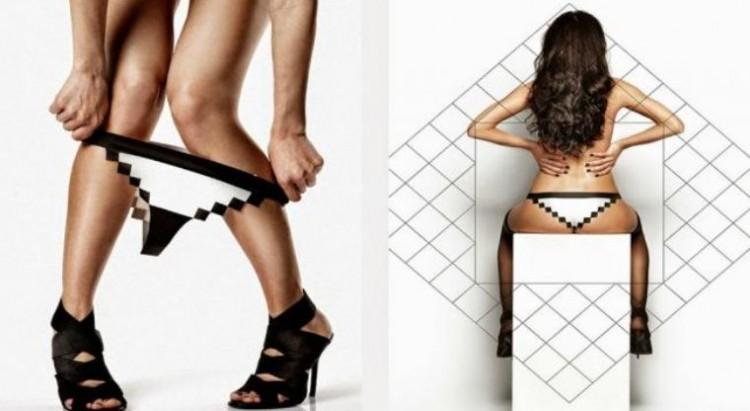 Pixel Panties-lenceria de 8 bits_