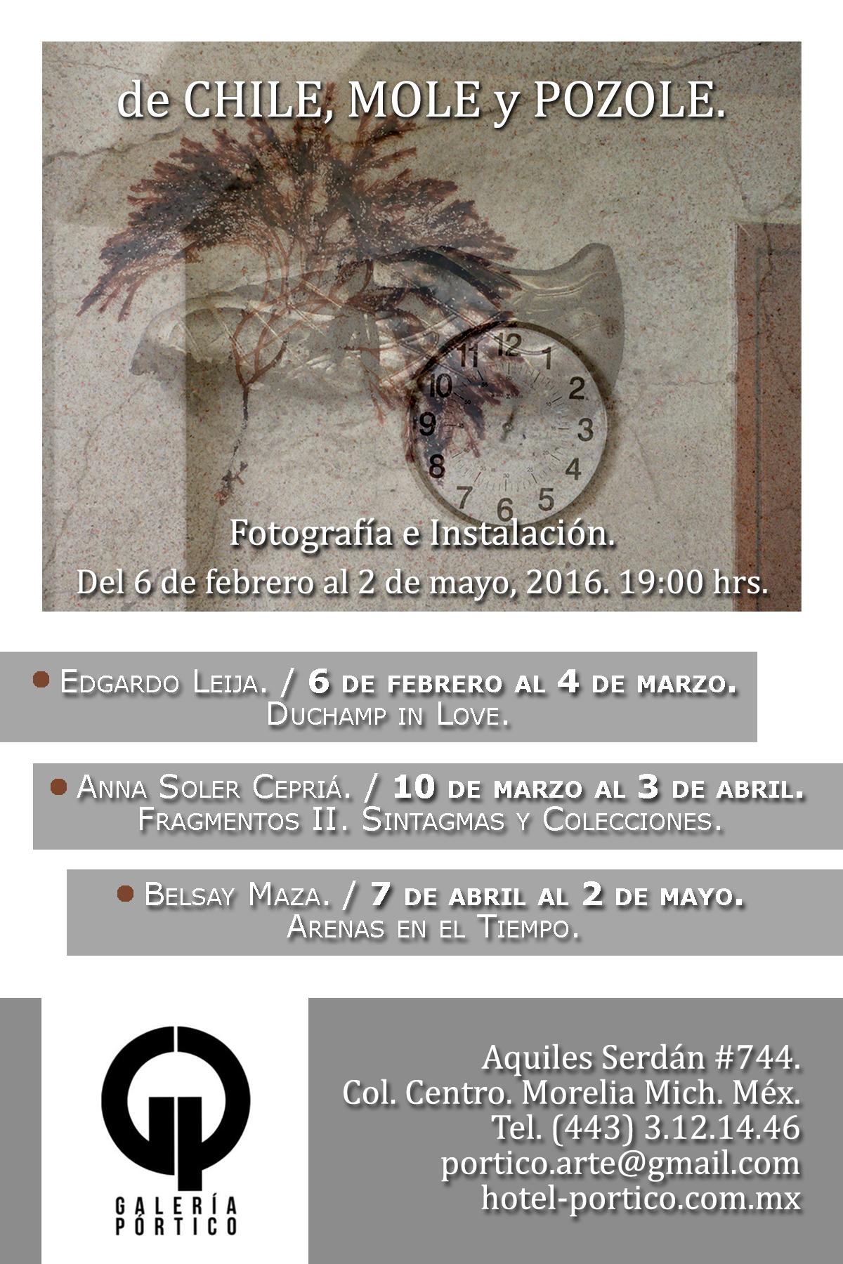 Muy Pronto Proyecto De Exposición De Chile Mole y Pozole En Morelia