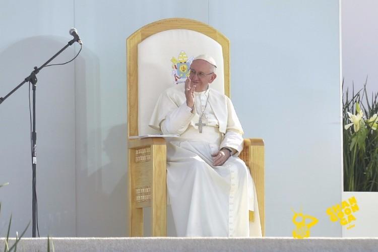 Papa Francisco Morelia 16